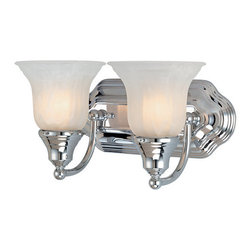 "Dolan Designs - Dolan Designs 468 2 Light 12.5"" Wide Bathroom Fixture - Traditional / Classic 2 Light 12.5"" Wide Bathroom FixtureThis Richland collection two light bath bar is a beautiful way to bring traditional style into your home. Mountable either up or down lighting, the classic bell style glass shades give it a quaint feel that will add ambience to your home.Features:"
