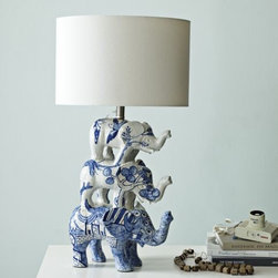 Shirley Fintz Table Lamp - This Shirley Fintz for West Elm table lamp is quirky cool in the best way possible. It's an investment piece, but one that I might just have to have.