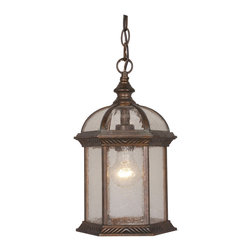 Vaxcel - Chateau Royal Bronze Outdoor Hanging Lantern - Vaxcel OD39786RBZ Chateau Royal Bronze Outdoor Hanging Lantern