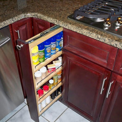 Spice Rack - Cabinet accessory