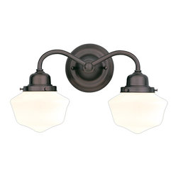 Hudson Valley Lighting - Hudson Valley Lighting 4602-OB Dawson 2 Light Bathroom Vanity Lights in Old Bron - This 2 light Bath And Vanity from the Dawson collection by Hudson Valley Lighting will enhance your home with a perfect mix of form and function. The features include a Old Bronze finish applied by experts. This item qualifies for free shipping!