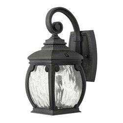 Hinkley Lighting - Hinkley Lighting 1946MB Forum Museum Black Outdoor Wall Sconce - Hinkley Lighting 1946MB Forum Museum Black Outdoor Wall Sconce