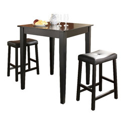 3-Piece Dining Set, Tapered Leg