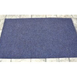 Dean Flooring Company - Dean Indoor/Outdoor Walk-Off Entrance Door Mat Blue 4' x 6' - Dean Indoor/Outdoor Walk-Off Entrance Door Mat Blue 4' x 6' : Dean Indoor/Outdoor Walk-Off Entrance Mat by Dean Flooring Company Color: Blue Face: 100% Hi UV stabilized polypropylene fiber. Backing: All weather non-skid latex rubber. Edges: Will not ravel or delaminate. Size: 4'x6'. Fade resistant Commercial or residential. Easy to clean (hose off, sweep, vacuum). Made in the USA!