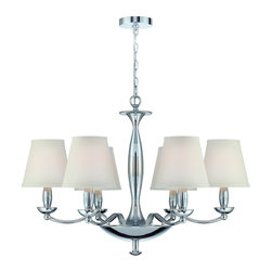 Lite Source - Althea 6 Light Single Tier Chandelier - To put it plainly and simply, Lite Source is a quality manufacturer of a vast selection of both beautiful and affordable interior lamps, not to mention a small number of other household items.