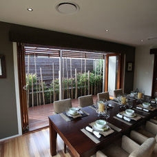 Modern Dining Room by ecodesign Pty Ltd