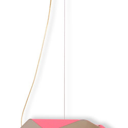 "Salvador Pink - Modern Ceiling Fixture - Contemporary/ Modern Ceiling LED Light Fixture - Salvador Pink RGB Ceiling Lamp - Lighting by Iris Design Studio Ltd This is a great pendant light fixture that can be used as a children room's lighting and as a hallway lighting fixture. Inspiration: ""Salvador Da Bahia is a city of beautiful beaches, where nature encroaches on the concrete walls. This design aims to transport the freedom of nature into urban spaces, convincing each and every one of us that we could fly, if we only tried. Brazil's ""capital of happiness"" was the inspiration for Iris' Salvador Da Bahia lamp, which bursts with all the colours of the rainbow. Radiating rambunctious fun and bright energy, Salvador incorporates an RGB LED system that throws light against the ceiling in the form of a mesmerising rainbow. The design echoes the form of a bird, speaking the language of freedom, choice, independence, and self expression. "" Certifications: UL Approved LED, CE approved LED"