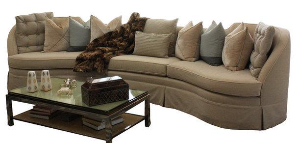 Modern Sofas by Jamie Herzlinger