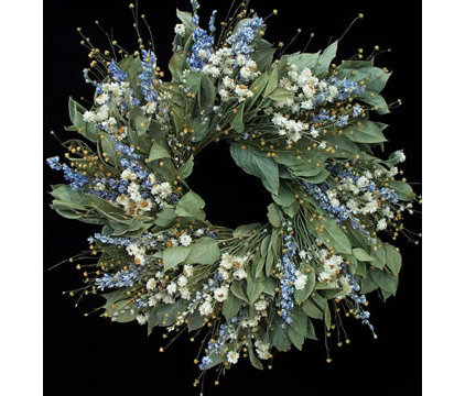 Traditional Wreaths And Garlands by Dried Flowers Direct