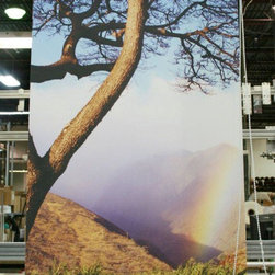 Custom Printed Roller Shades - Nature printed on your custom roller shades