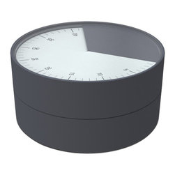 """Joseph Joseph - Joseph Joseph """"Pie"""" Kitchen Timer, Grey - This striking kitchen timer takes some of the guesswork out of cooking."""