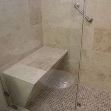 30 Irreplaceable Shower Seats Design Ideas - ArchitectureArtDesigns.com