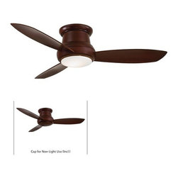 "MinkaAire - MinkaAire Concept II 52 3 Blade 52"" Flushmount Ceiling Fan - Light, Handheld Rem - Features:"