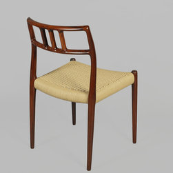 Niels Moller No. 79 Dining Chairs, Set of Five - Vintage 1960s Rosewood Dining Chairs by Niels Møller.