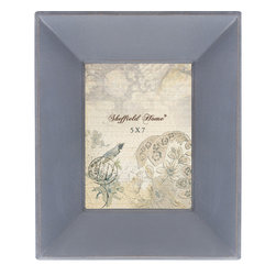 Lightaccents - Home Accents Wooden Picture Frame / Photo Frame 5 x 7 Inches (Distressed Grey) - Part of the Paris Photo Frame Collection