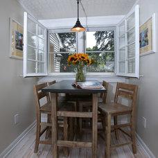 Transitional Kitchen by Angela Bonfante Kitchen Designs