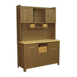multiple open cubby spaces. Slip the three included hand-woven baskets ...
