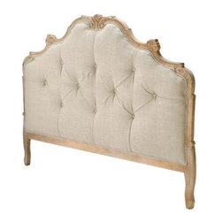 Candelabra Home - Candelabra Home Wood Tufted Headboard Queen - Queen size wood tufted headboard by Candelabra Home.