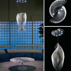 Contemporary Pendant Lighting by Leon Speakers, Inc.