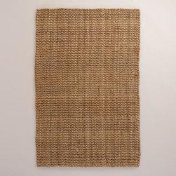 Basket-Weave Jute Rug -