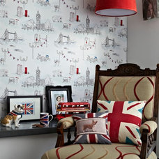 Contemporary Wallpaper by Wallpaperdirect