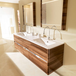 AMBIANCE BAIN - DOLCE BY AMBIANCE BAIN - AMBIANCE BAIN modular units comprise numerous ranges of stylish ready-made designs. They are available in set sizes with set specifications. Simply follow the steps below and you will soon be on your way to your new bathroom.