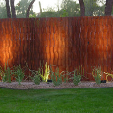 Contemporary Home Fencing And Gates by Kevin Caron Studios