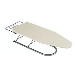 Household Essentials - Ultra Plus Table Top Board, Silver/Natural - Our Whitney Design Tabletop Ironing Board works great like small laundry rooms in condos and apartments. Whether you are an ironing novice or practically a professional, this table top board is perfect for the grab and go setting up as quickly as it comes down.