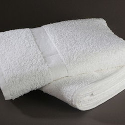 Hotel Bath Products : 86% Cotton, 14% Polyester Premium Quality Wash Cloth - Hotel Towels