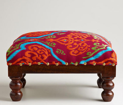 Eclectic Footstools And Ottomans by Cost Plus World Market