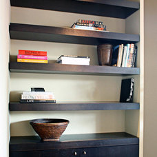 Contemporary Wall Shelves by Stephen Day Design