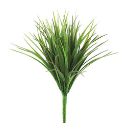 Silk Plants Direct - Silk Plants Direct Vanilla Grass Bush (Pack of 24) - Silk Plants Direct specializes in manufacturing, design and supply of the most life-like, premium quality artificial plants, trees, flowers, arrangements, topiaries and containers for home, office and commercial use. Our Vanilla Grass Bush includes the following:
