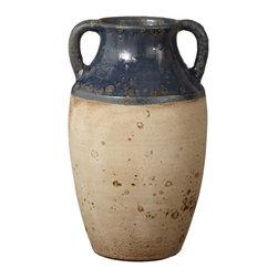 Lazy Susan - Denim Olive Jar - -Handcrafted