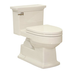 TOTO - TOTO Lloyd Elongated One-Piece Toilet, Bone (MS934214SF#03) - TOTO MS934214SF#03 Lloyd Elongated One-Piece Toilet, Bone