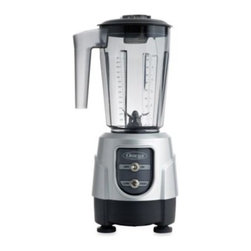Omega - Omega BL330S Blender - Blender combines control and capacity. A compact base incases an efficient 1 HP motor engineered to mix a variety of ingredients into creams, soups, smoothies and iced beverages with ease.
