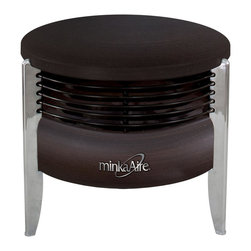 Minka Aire - Minka Aire F315-KA Hassock Floor Fan - Floor Fan in Kocoa from the Hassock Collection by Minka Aire.