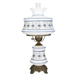 Quoizel Lighting - Quoizel AB703A Abigail Adams Antique Brass Table Lamp - 1, 150W A21 3-Way Medium