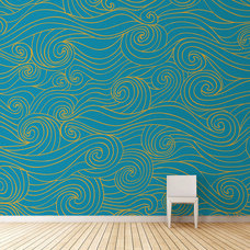 Contemporary Wallpaper by Studio Arterie