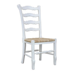 EuroLux Home - New Dining Chair White/Cream Set 6 Painted - Product Details