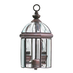 Quorum International - Quorum International 735-2-15 Wellsley Gloss Black Outdoor Lantern - Quorum International 735-2-15 Wellsley Black Outdoor Hanging Lantern