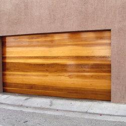 Modern Contemporary Garage Doors - Tungsten Royce