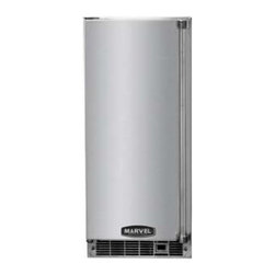 "Marvel - MPRO30IMT-BS-R 15"" PRO Clear Ice Maker:Stainless Steel  Right Hinge - The MPRO30IMTBSL 15 PRO Clear Ice Maker makes restaurant quality ice in clear cubes Temperatures adjustable from 42F to all the way down to 34F It comes witha stainless steel solid door"