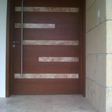 Contemporary Entry by Aple Const