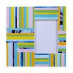 """NY MOSAIC ART - Handmade Glass Mosaic Photo Frame 12"""" x 12"""" for picture size 5""""x7"""" - Handmade Glass Mosaic Photo Frame 12""""x12"""" for picture size 5""""x7"""""""