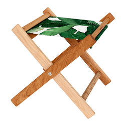 Gallant & Jones - Tahiti Deck Stool - Stool with Fabric Sling