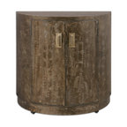Uttermost - Cesano Console Cabinet - Can you see this gorgeous console cabinet in your home? Can you see it in your dining room holding your fine linens inside and a decorative vase on the top? Or perhaps in your living area under a smashing piece of art or contemporary mirror? If you have an eclectic taste, this cabinet may be just the piece for your entryway under a beautiful sconce. Aren't choices grand?