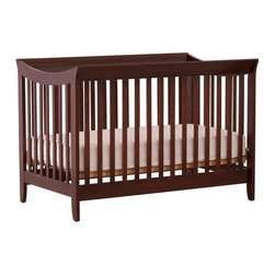 Storkcraft - 2-in-1 Fixed Side Convertible Crib - Espresso - Bedding and mattress not included. 2 in 1 crib that converts to a full-bed (with separate purchase of a full-size, double-ended mattress rails).. Solid stationary sides offer security and stability . Three adjustable mattress support positions to accommodate your baby's growth. Made of solid wood and wood products with non-toxic finishes. Easy to assemble with permanently attached instructions. JPMA certified & PTPA approved. 1 year manufacturer's warranty. 53.7 in. L x 33.8 in. W x 37.8 in. H (55 lbs.). Crib Safety: ivgStores cares about the safety of the products we sell especially for your new little one. We work closely with our manufacturers and only carry those items which meet or exceed federal and state laws. If you are considering buying a new crib or even using a previously owned or heirloom crib, we recommend you visit  cribsafety.org to learn more about crib safety.
