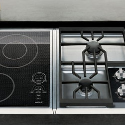 "Wolf 15""  Integrated Cooktops - I love the flexibility of these modular cooktops."