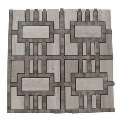 "GlassTileStore - Lineage Gray Wood and Athens Gray Line Marble Tile - Lineage Gray Wood and Athens Gray Line Marble Tile             This marble mosaic will provide endless design possibilities from contemporary to classic. It creates a great focal point to suit a variety of settings.         Color: Gray    Material: Athens Gray and Gray Wood   Finish: Polished   Sold by the Sheet- each sheet measures 12""x12"" (1 sq.ft.)   Thickness: 10 mm   Please note each lot will vary from the next.            - Glass Tile -"