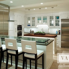 Traditional Kitchen by Vallone Design
